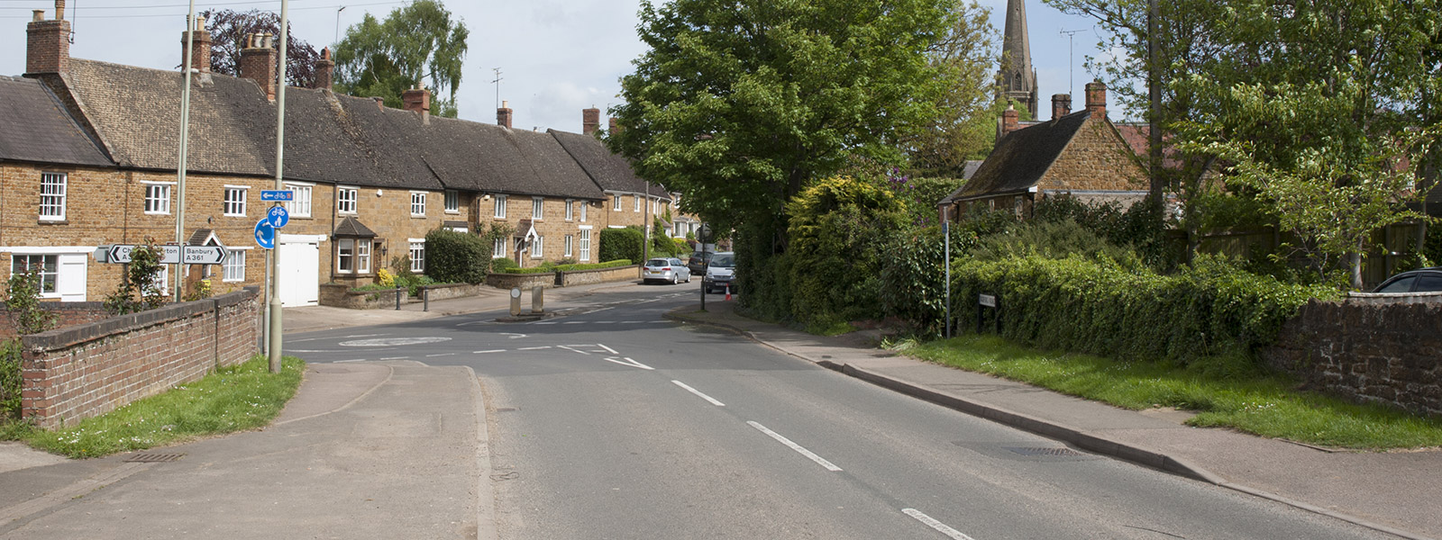 Photograph of Bloxham village